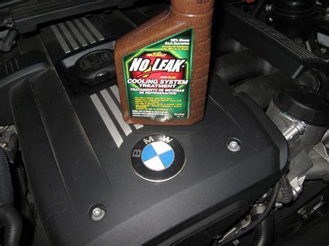BMW coolant leak heater core repair No Leak Stop Leak by