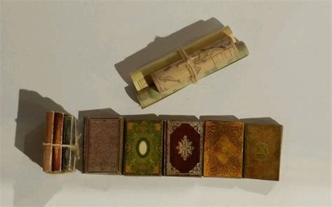 dolls house books dolls house miniature books antique style job lot of 8 books