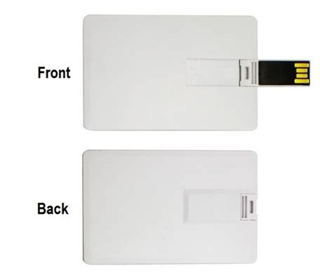 Credit Card Usb Template by Credit Card Shape Usb Pen Drive Cs001