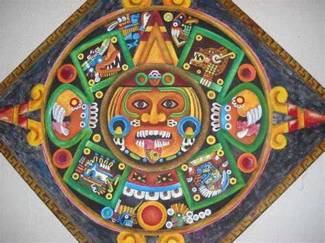 Calendario Azteca For Sale Oleo De Quinto Sol Parte De Calendario Azteca U S