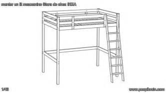 Ikea Loft Bed Frame Monter Un Lit Superpos 233