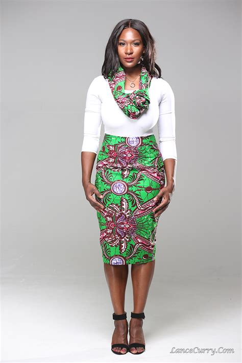 product of the streets ankara product of the day penelope pencil skirt by ankara