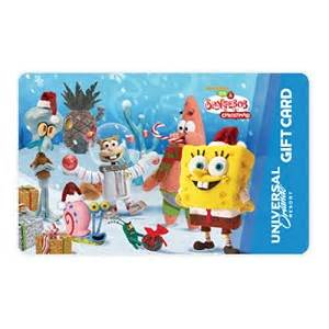 universal gifts for christmas your wdw store universal collectible gift card spongebob friends