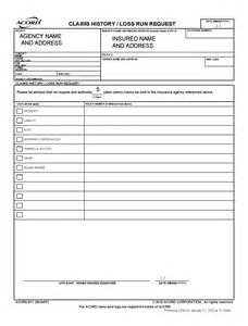 Request Letter Sle For Form 137 Loss Run Report Sle 28 Images Fillable Loss Run Report