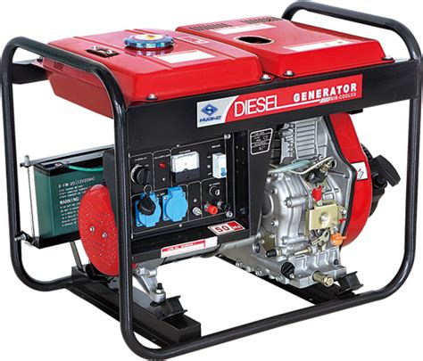 5kw open type diesel generator battery powered generator