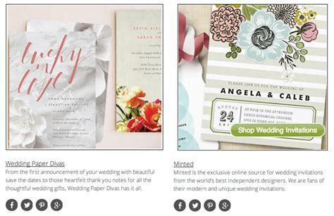 Top 10 Wedding Invitation Websites