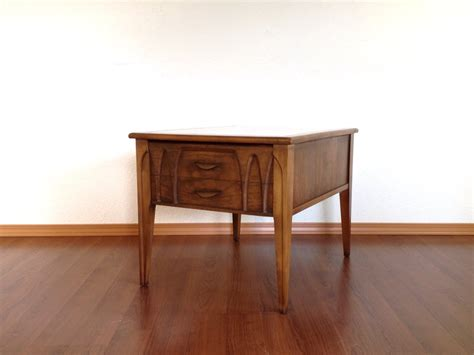 Vintage Mid Century Modern Furniture by Vintage Mid Century Modern Marble Top Side Table With Drawer Retro Furniture Haute Juice