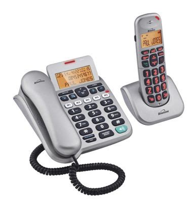 tesco mobile telephone number buy binatone speakeasy 3865 combo telephone silver from