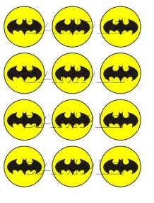 items similar to batman edible cupcake toppers on etsy