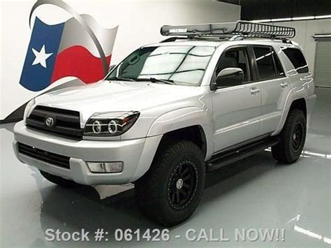 where to buy car manuals 2005 toyota 4runner auto manual purchase used 2005 toyota 4runner v6 lifted sunroof leather roof rack texas direct auto in