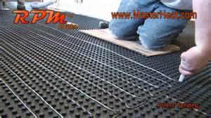 In Floor Heating Mats Canada In Floor Heating Radiant Heating Rpm Do It Yourself