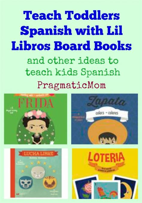libro fun learning activities for teach toddlers spanish with lil libros pragmaticmom