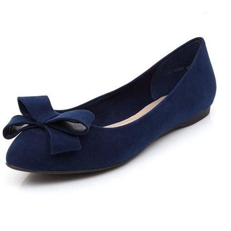 flat navy blue shoes 1000 ideas about blue ballet shoes on