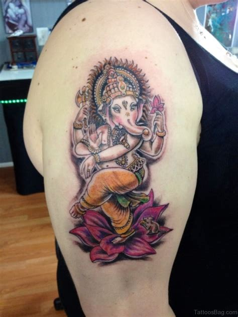 lord ganesha tattoo designs 92 lord ganesha tattoos on shoulder
