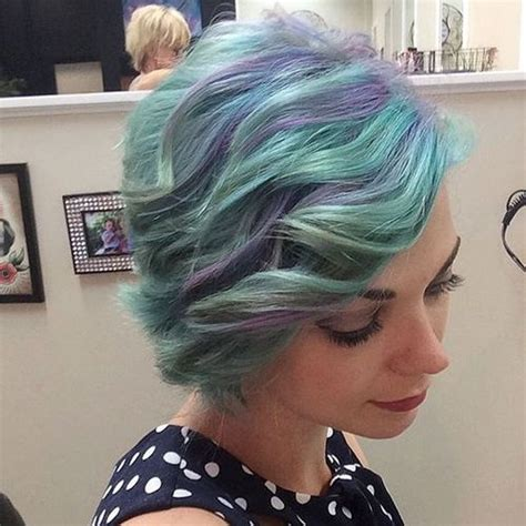 pastel blue hair color ideas