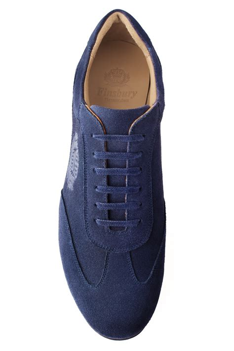 tucson slippers tucson navy suede s casual shoe finsbury shoes