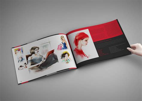 design haven portfolio and artbook template for indesign