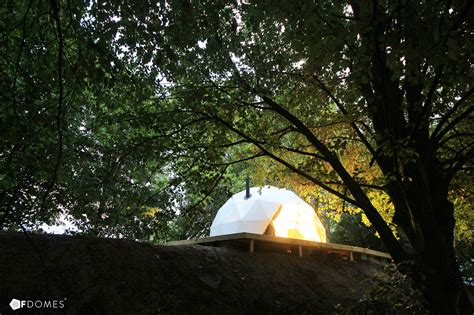 backyard dome create your own backyard geodesic dome with these super