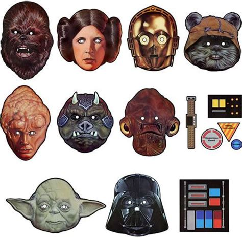 printable star wars masks free star wars mask printables star wars printable