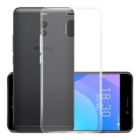 Slim Tpu Meizu M6 Note Soft Clear Back Cover meizu m6 note silicone transparent
