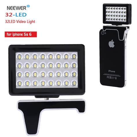smartphone light aliexpress buy neewer smartphone light 32 led 32led light for iphone 5s 6 from