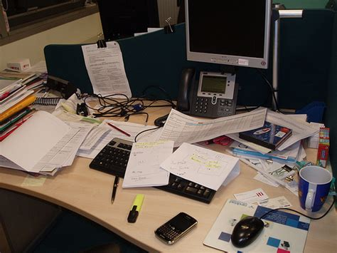 Clear Desk Policy by Flickr Photo