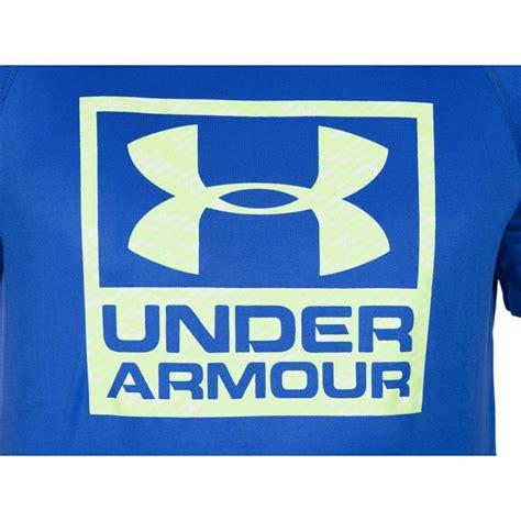 Clothing Armour Boxed Logo armour mens ua shirt tech boxed logo heat