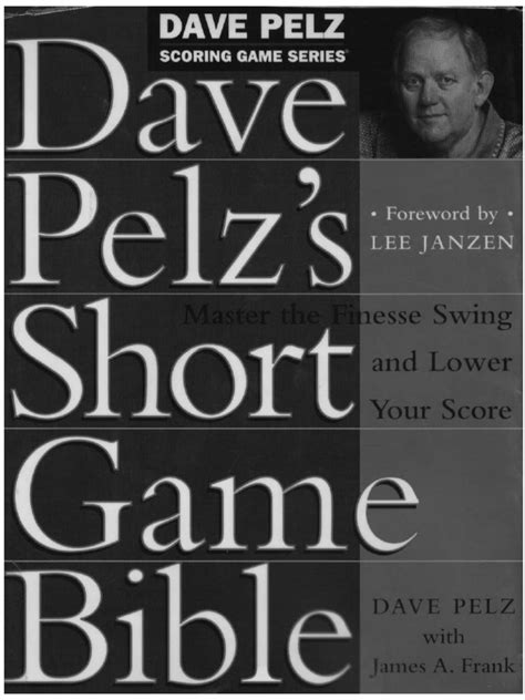 Pdf Dave Pelzs Bible golf strategies dave pelz s bible pdf golf