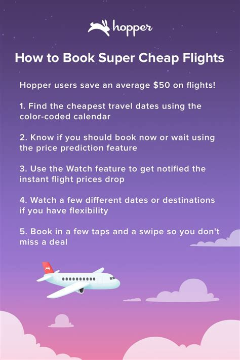 hopper tells you when to fly buy save up to 40 on your next flight travelling for your