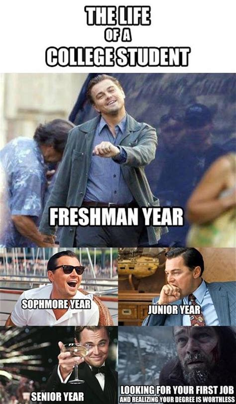 College Life Memes - the life of a college student ultimate funny pictures