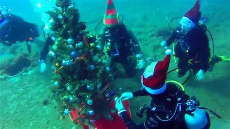 underwater christmas tree at zenobia wreck youtube