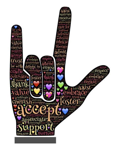 imagenes de i love you con las manos ilustraci 243 n gratis el amor lenguaje de se 241 as imagen