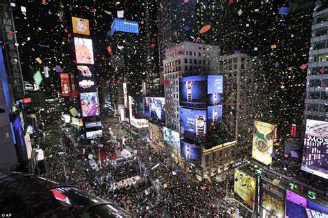 million brave second coldest new year s in ny