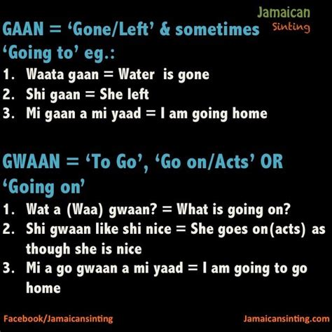 How To Speak Patios by Jamaican Patois Quotes Quotesgram