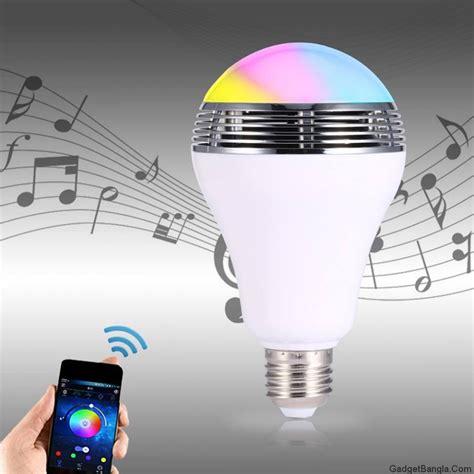 Bluetooth Smart Led Light Bulb Speaker Dealmart Bd Led Light Bulb Speakers