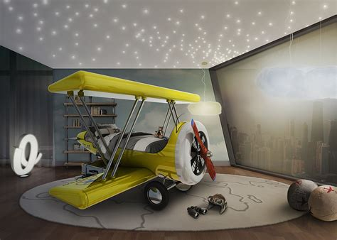 airplane bed flystastic airplane by circu themed bed for daring kids
