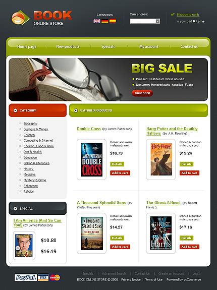 list of top 22 best free oscommerce templates collection