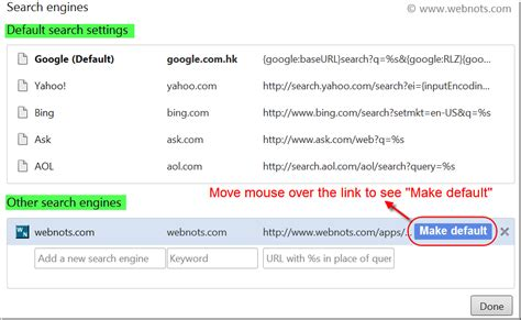 Chrome Address Bar Search Engine How To Use Chrome Address Bar For Search Webnots