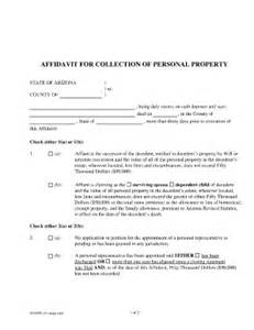 personal affidavit template personal affidavit fill printable fillable