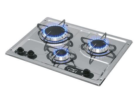 piani cottura a gas da incasso piano cottura ad incasso in acciaio inox pc1323