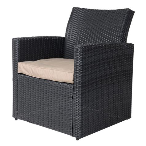 Black Wicker Coffee Table Black Tuscany Rattan Wicker Sofa Garden Set With Coffee Table