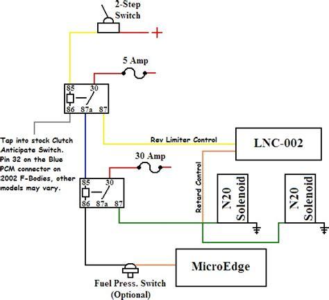 msd 2 step wiring diagram efcaviation
