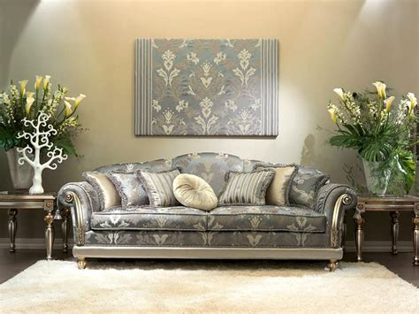 luxurious couches luxury classic sofa for hall hand carved idfdesign