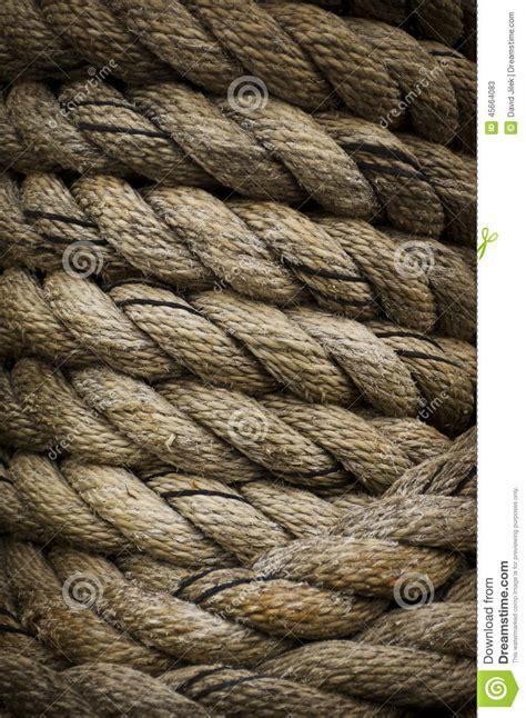 heavy boat rope heavy rope stock photo image 45664083