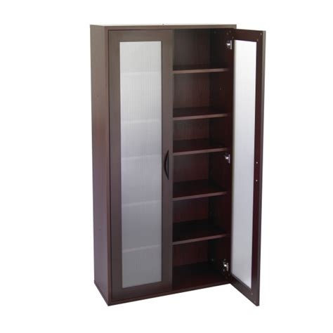 Furniture. The Wonderful Tall Storage Cabinet With Doors