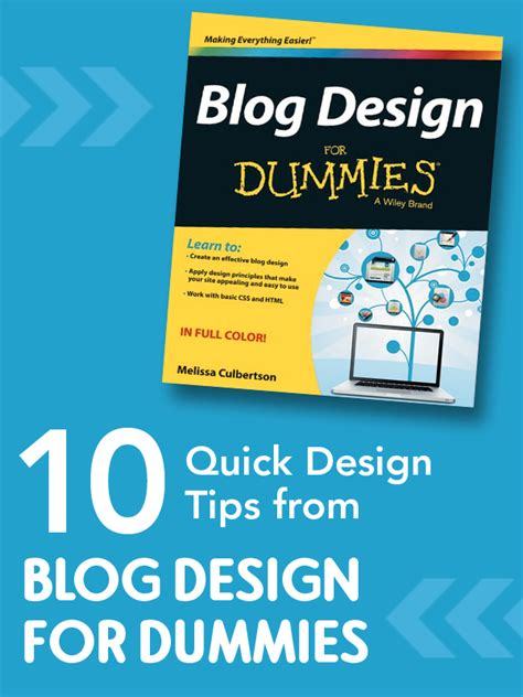 10 design tips from design for dummies