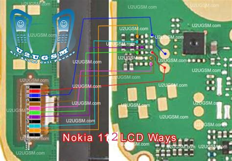 nokia 110 lcd light solution mobile repairing nokia 112 display ways