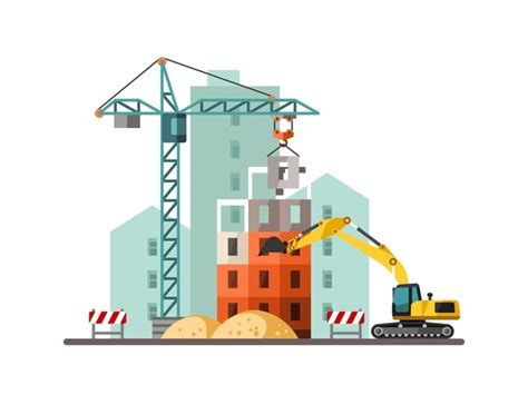 city building construction template vectors 19 vector