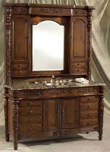 Bathroom Vanity Hutch 60 69 Inch Vanities Bathroom Vanities Sink Vanity
