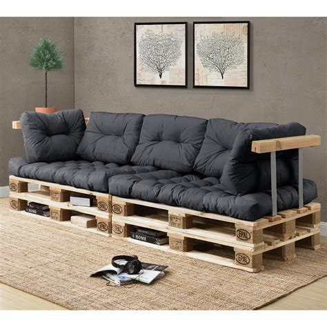 pallet sectional sofa cushions en casa pallet cushions in outdoor pallets cushion sofa